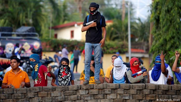 Nicaragua - Proteste (Reuters/O. Rivas)