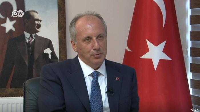 Türkei Kandidat Muharrem Ince