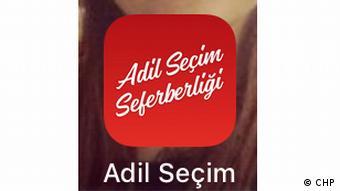 Türkei Wahlapp der CHP (CHP)