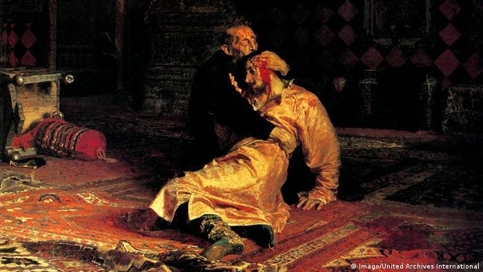 Илья Репин. Иван Грозный убивает своего сына