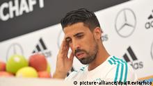 Italien | Trainingslager Deutsche Nationalmannschaft | Sami Khedira