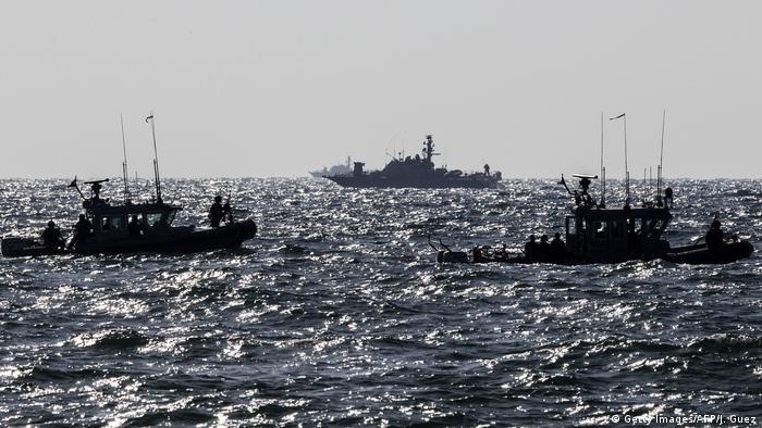 Israel Grenze Gazastreifen Israelische Marine