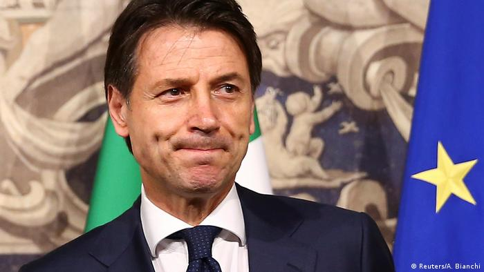 Italian PM Guiseppe Conte