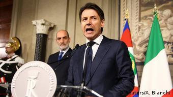 Italien Regierung gescheitert - Guiseppe Conte gibt auf (Reuters/A. Bianchi)