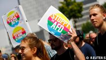 Deutschland - Berlin Gegendemo zu AFD Demonstration (REUTERS)