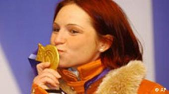 Andrea Henkel gewinnt Goldmedaille