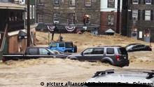 USA - Überflutungen in Maryland, Ellicott City