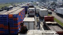Brasilien - Straßenblockade gegen hohe Treibstoffpreise