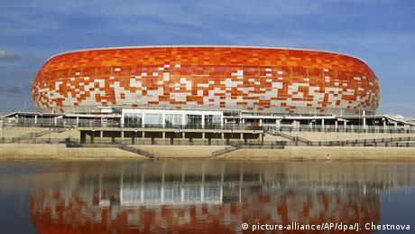 Το στάδιο θα έχει χωρητικότητα 44.000 θέσεων κατά τη διάρκεια του Παγκόσμιου Κυπέλλου Ποδοσφαίρου. Σχεδιάστηκε από τον Γερμανό αρχιτέκτονα Τιμ Χούπε. Μετά το τέλος της διοργάνωσης θα έχει χωρητικότητα 28.000 θέσεων και θα φιλοξενεί την τοπική Μορντόβια - Σαράνσκ, η οποία παίζει στην τρίτη εθνική κατηγορία.