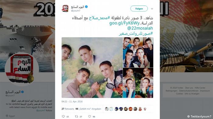 Screenshot - Twitter: Mohamed Salah (Twitter/youm7)