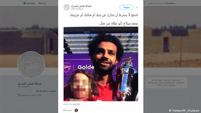 Screenshot - Twitter: Mohamed Salah (Twitter/AF_Aladeem)