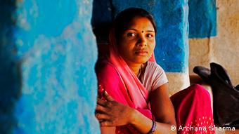 Women are often forced to live outside their homes during their period