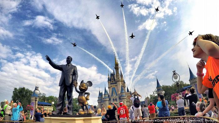 USA Themenparks | Walt Disney World in Bay Lake (picture-alliance/Zuma Press/Orlando Sentinel/J. Burbank)