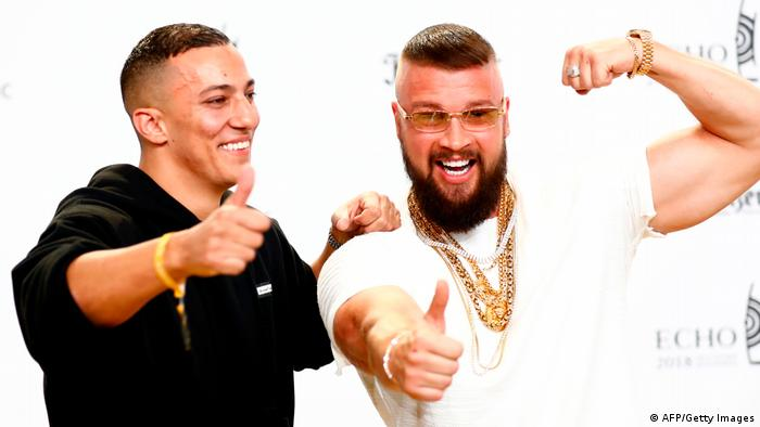 No legal action to be taken against German rappers for