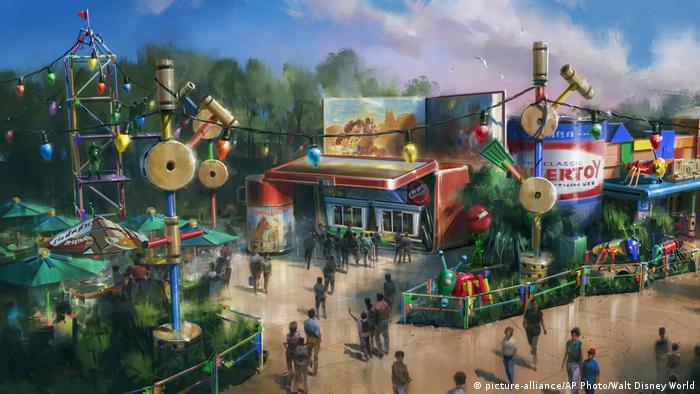 USA Toy Story Land in Orlando (picture-alliance/AP Photo/Walt Disney World)