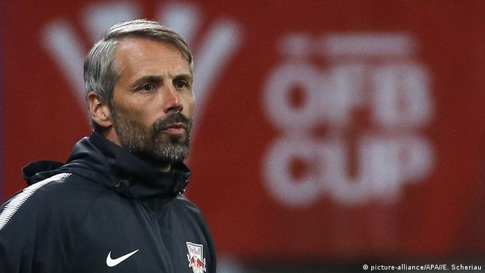 Fußball RB Salzburg Trainer Marco Rose