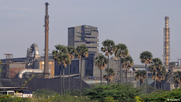 Indien Tuticorin Kupfer-Fabrik