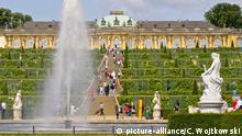 Deutschland Brandenburg, Potsdam, Sanssouci, Neues Palais Garten