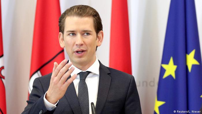 Федеральный канцлер Австрии Себастиан Курц