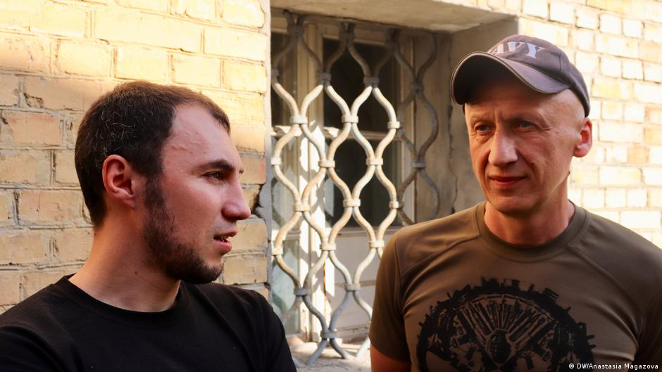 Ukraine Kiew Jobmesse für Kriegsveteranen