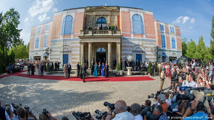 Deutschland 102. Bayreuther Festspiele - Eröffnung (picture-alliance/dpa/T. Hase)
