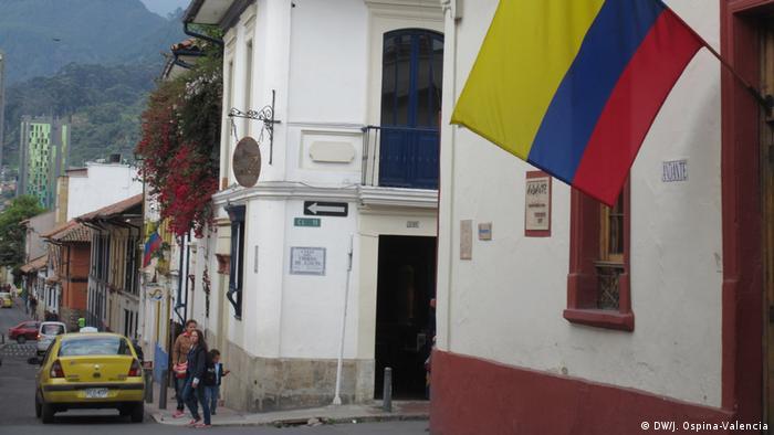 La Candelaria, casco colonial de Bogotá.