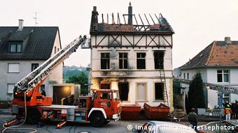 Εμπρηστική επίθεση με στόχο Τούρκους μετανάστες το 1993 στην πόλη Ζόλινγκεν