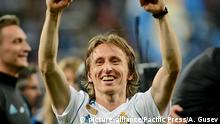 UEFA Champions League | Real Madrid vs Liverpool - Luka Modric (picture-alliance/Pacific Press/A. Gusev)