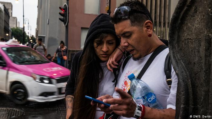 A man and a woman in Mexico City (DW/S. Derks)