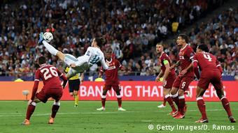 UEFA Champions League Finale | Real Madrid v Liverpool -Fallrückzieher von Gareth Bale