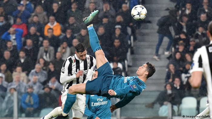 UEFA Champions League | Real Madrid v Juventus Turin - Fallrückzieher von Cristiano Ronaldo (Imago/Insidefoto)