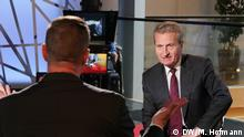 Interview Günther Oettinger
