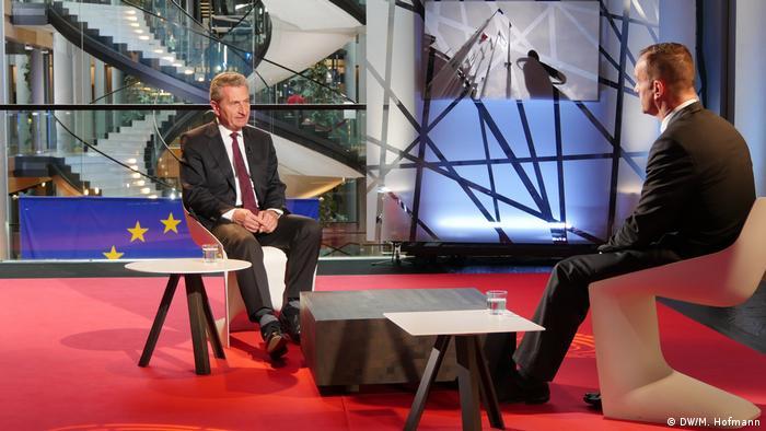 Interview Günther Oettinger