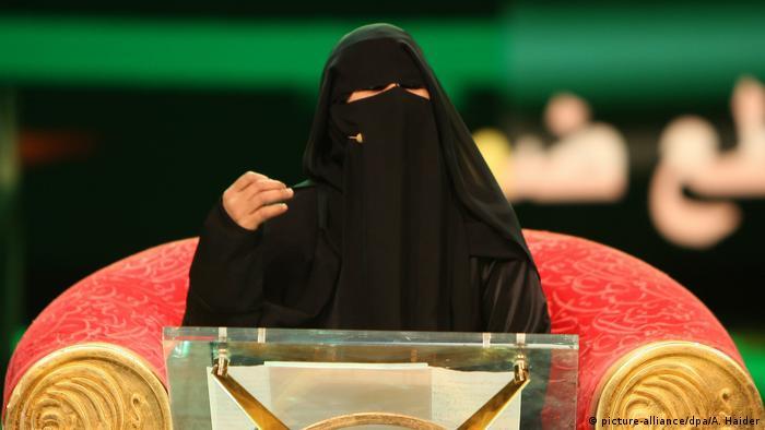Hissa Hilal in der TV-Show Million's Poet