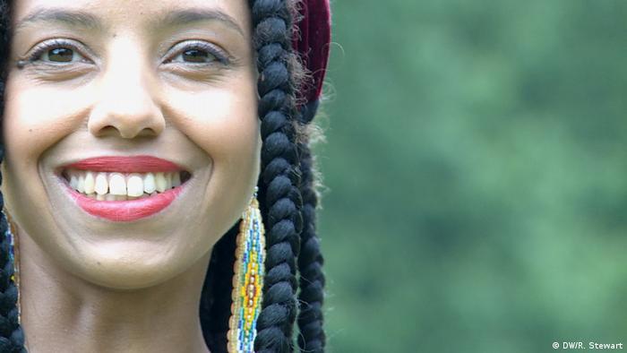 Sängerin Mariama Jalloh