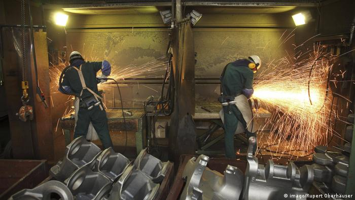 Steelworkers in Germany
