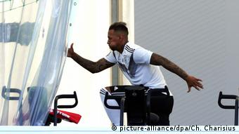 WM 2018 - Trainingslager Deutschland Jerome Boateng (picture-alliance/dpa/Ch. Charisius)