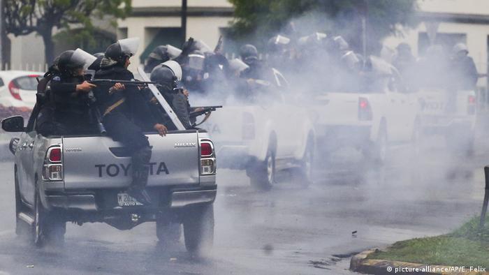 Nicaragua Proteste in Managua (picture-alliance/AP/E. Felix)