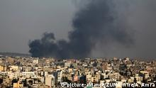 Palästina Gazastreifen nach israelischem Luftschlag