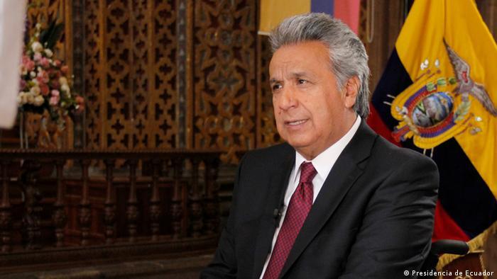 Ecuador Interview mit Präsident Lenin Moreno (Presidencia de Ecuador)