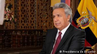 Ο πρόεδρος του Ισημερινού Λένιν Μορένο