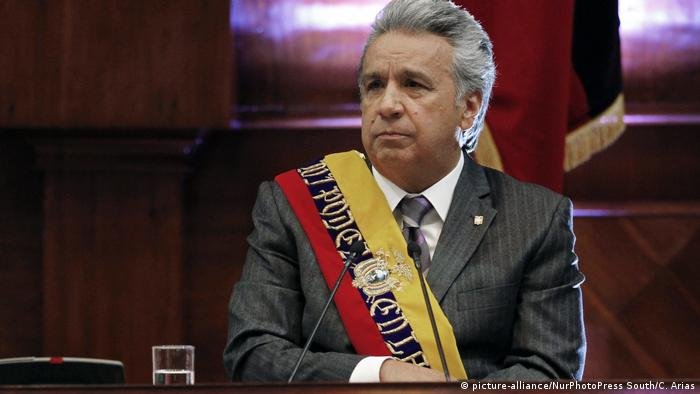 Ecuador Quito Lenin Moreno (picture-alliance/NurPhotoPress South/C. Arias)