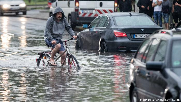 Deutschland Wetter Unwetter in NRW