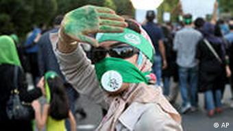 Iran Protest Wahl