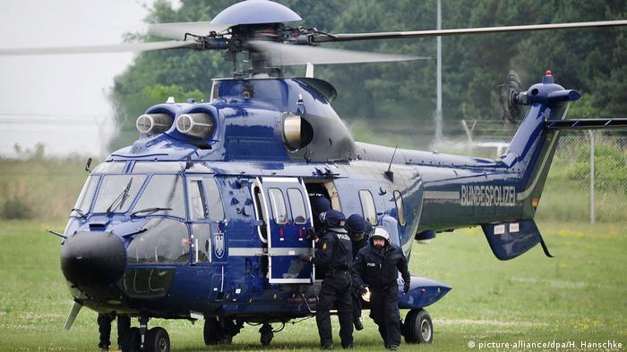 Гелікоптер федеральної поліції