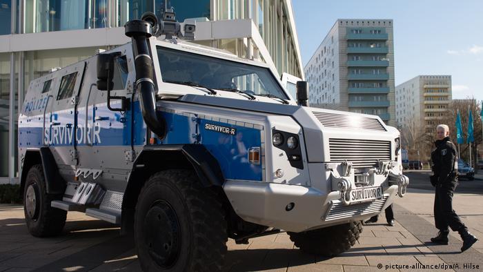 Бронемашина берлінської поліції
