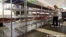 Brasilien Lebensmittelknappheit Supermarkt in Porto Alegre