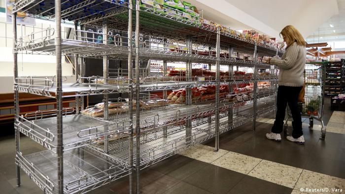 Brasilien Lebensmittelknappheit Supermarkt in Porto Alegre (Reuters/D. Vara)