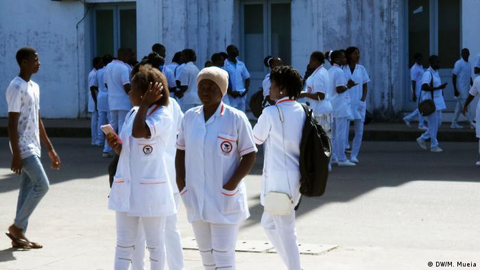 Mosambik- Krankenschwester