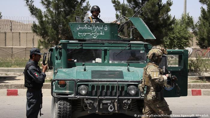 Afghan solciers